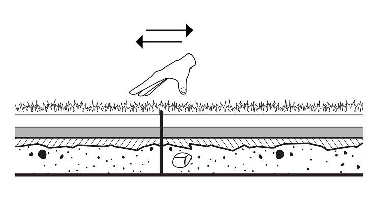 how to lay artificial grass step 6