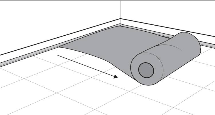 how to lay carpet step 4