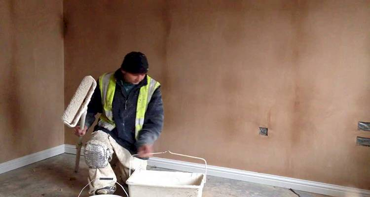 How to paint new plaster