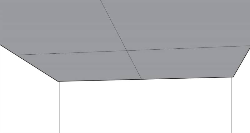 how to plasterboard a ceiling step 5