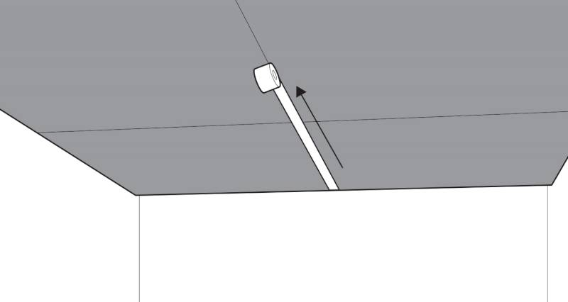 how to plasterboard a ceiling step 6