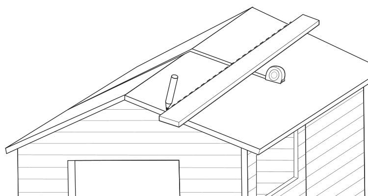 replace a shed roof 1