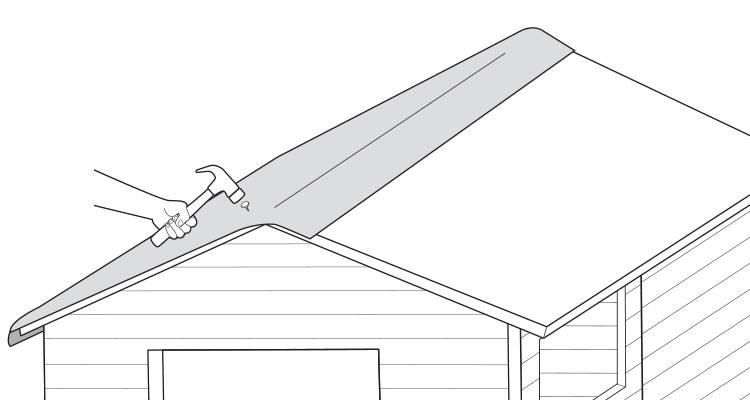 replace a shed roof 3