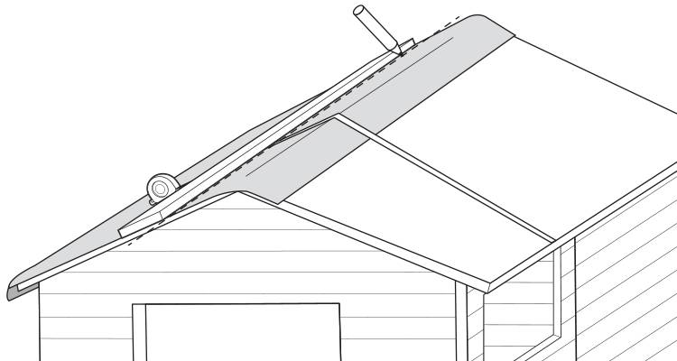 replace a shed roof 4
