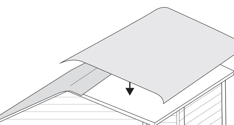 replace a shed roof 5