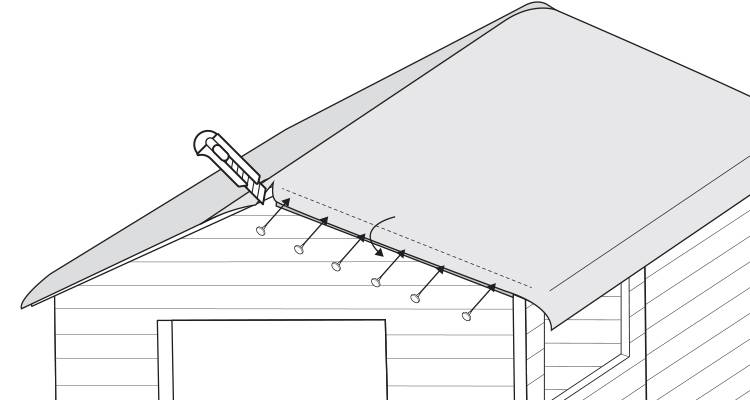 replace a shed roof 7
