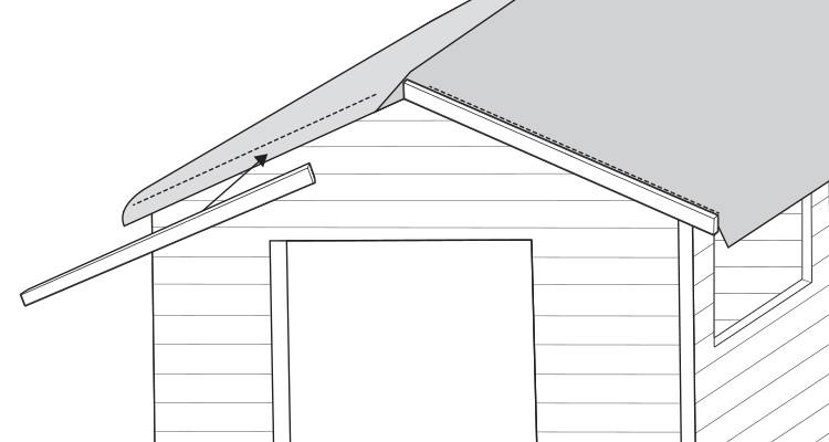 replace a shed roof 8