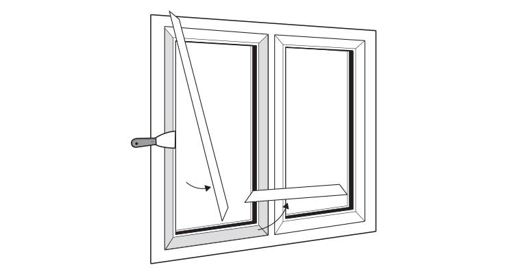 how to replace upvc windows step 4