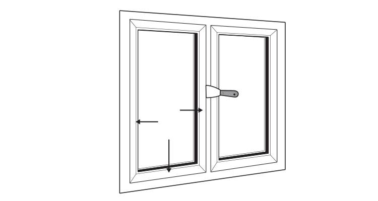 how to replace upvc windows step 8