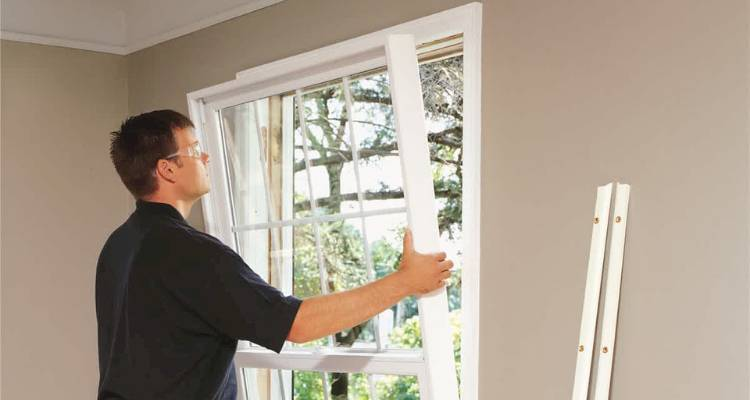 How to replace a upvc window