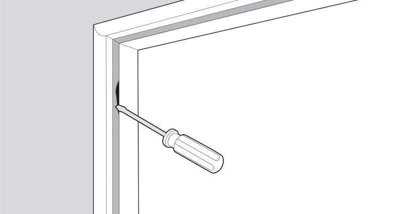 how to replace a upvc window seal step 2