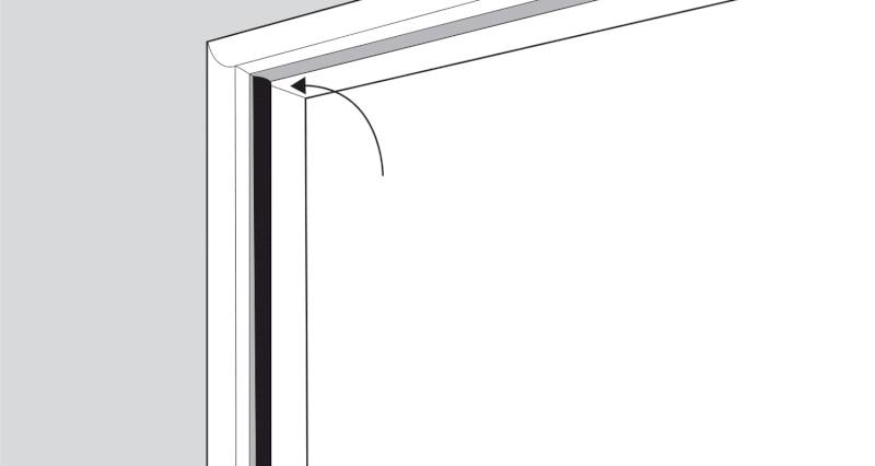 how to replace a upvc window seal step 3