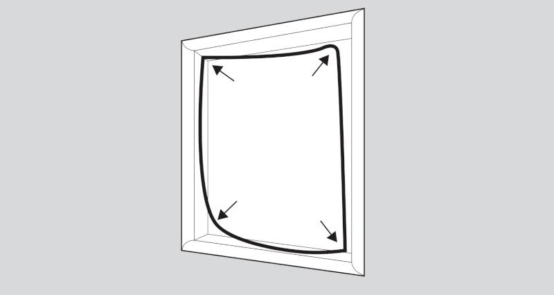 how to replace a upvc window seal step 4