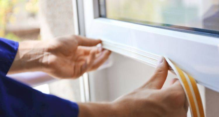 how to replace a upvc window seal
