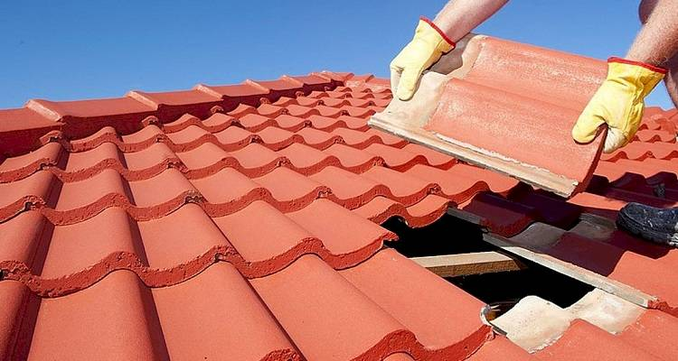 how to replace roof tiles