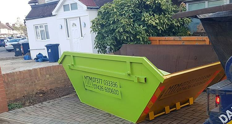 large skip hire cost