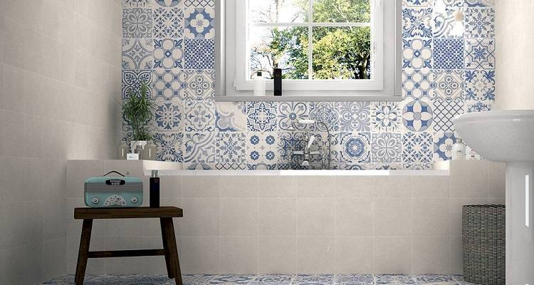 Choosing bathroom tiles