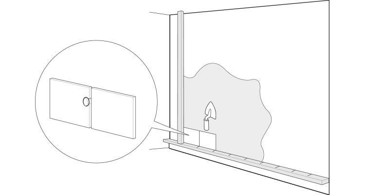 how to tile a bathroom wall step 5