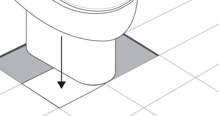 how to tile around a toilet step 13