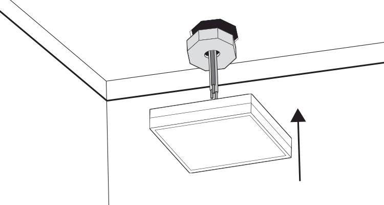 how to wire a ceiling light step 7