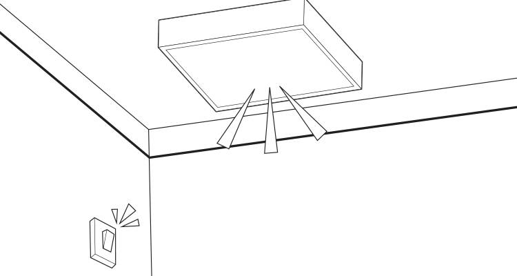 how to wire a ceiling light step 8