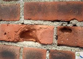 Replacing A Damaged Brick