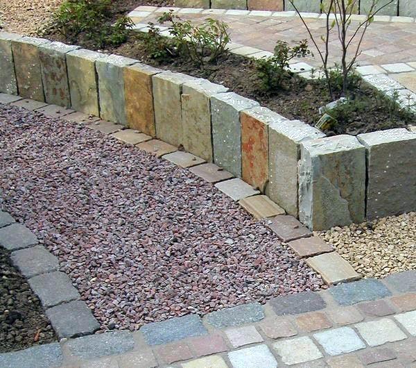 Decorative Patio Stones : Big ideas for small gardens