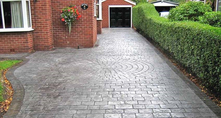 Imprinted Concrete Driveway Cost - Myjobquote