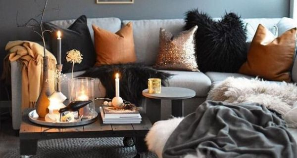 Cosy living room space