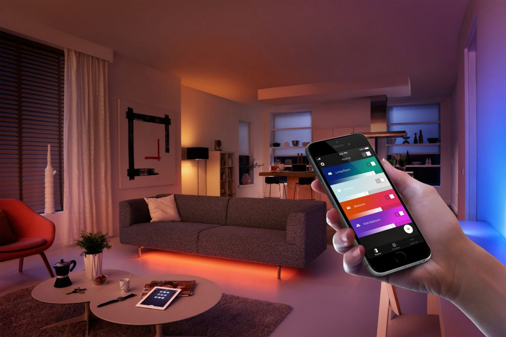 smart home lights