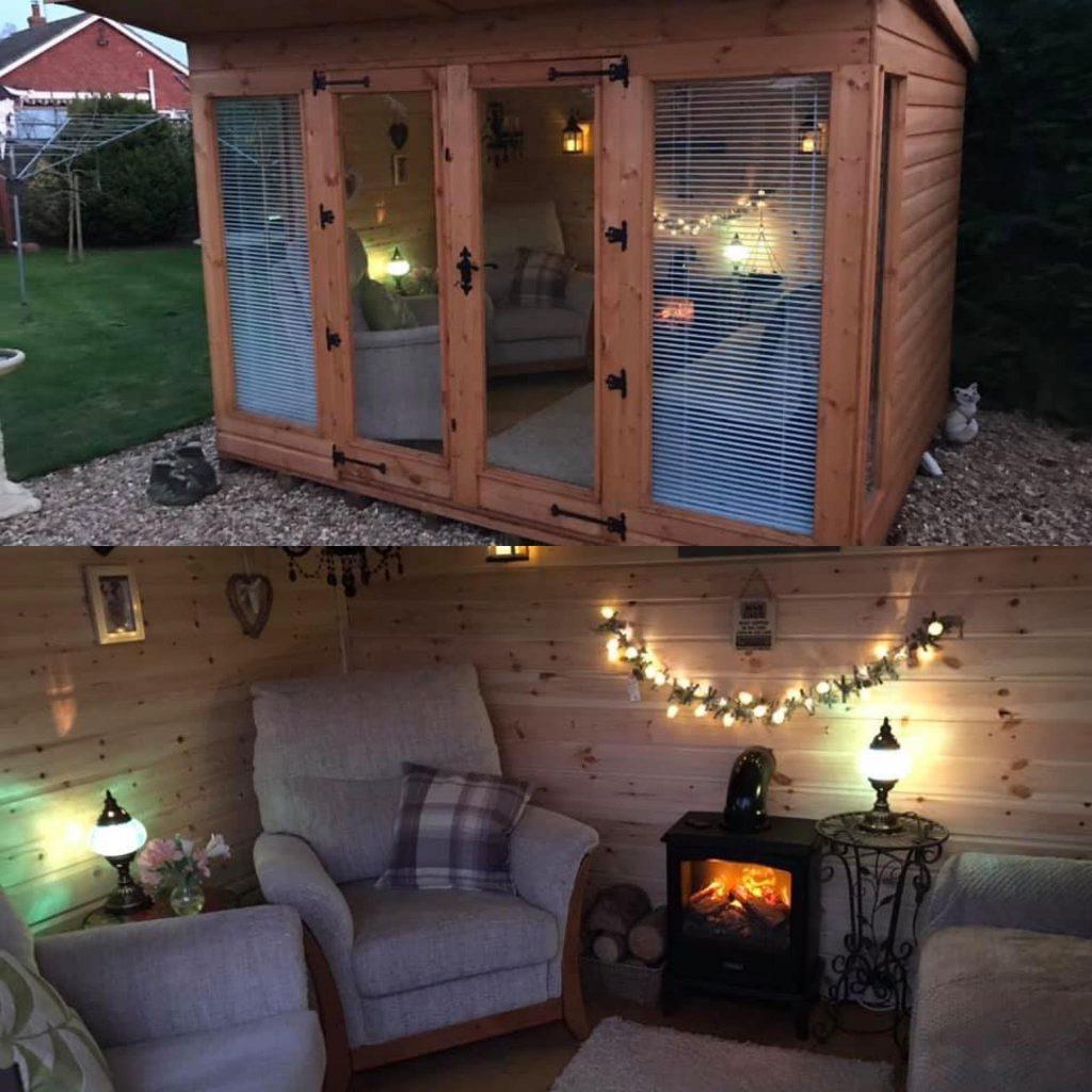 Garden Relaxation room