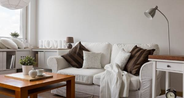 Neutral living room small