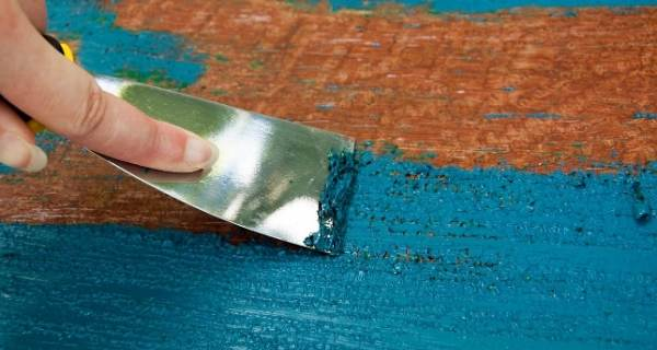 paint stripping for upcycling