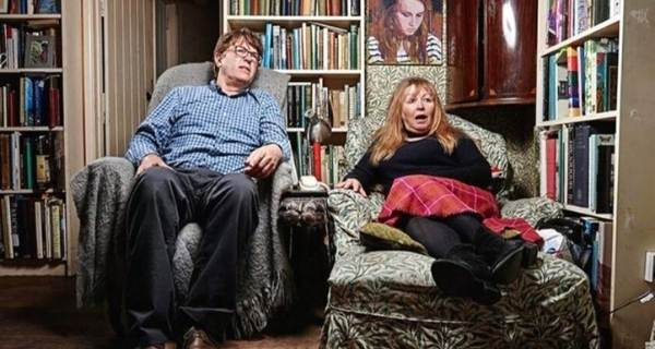 Giles and Mary Goggle Box