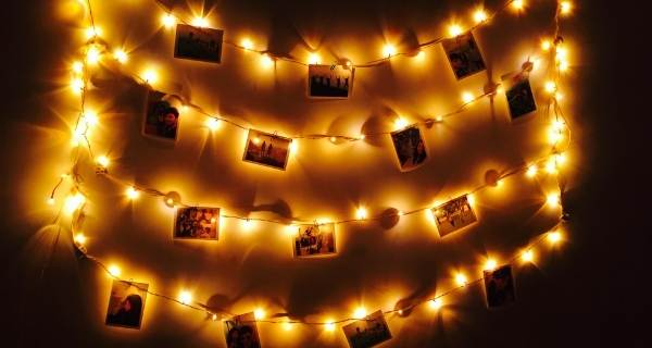 fairy light lighting with pictures