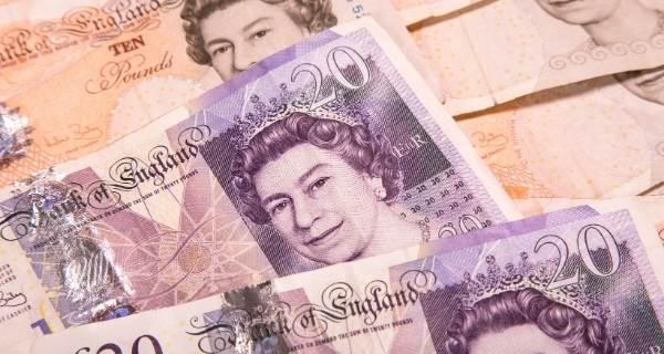 ten and twenty pound notes